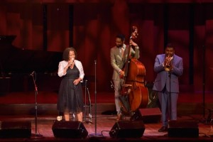 Sunny Sumpter performs at DC Jazz Festival