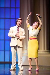 Actors protray Jim and Tammy Faye Bakker
