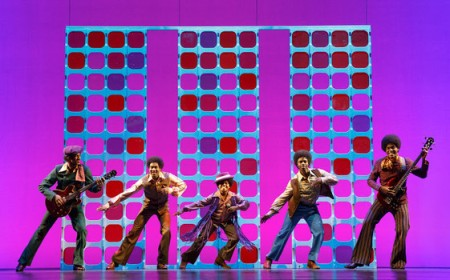 Motown the Musical on stage