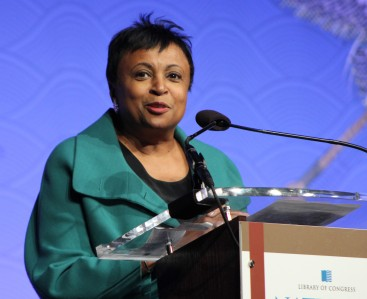 Carla Hayden, the first woman and African-American Librarian of Congress.