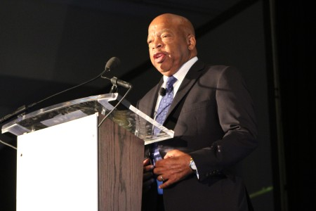 Rep. John Lewis at Book Festival