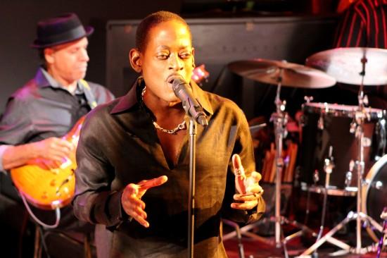 T.C. Carson performing