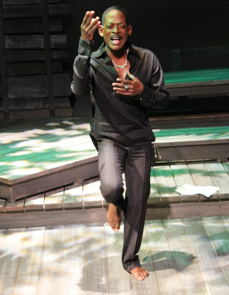 T.C. Carson performs at MetroStage