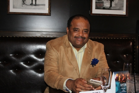 Journalist Roland Martin attended the sccreening