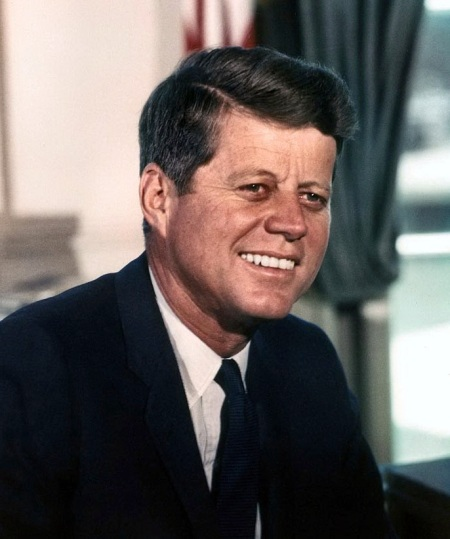 John F Kennedy exhibit returns