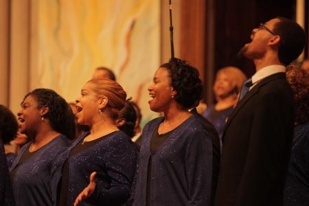 Washington Performing Arts gospel choirs concert