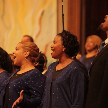 Washington Performing Arts gospel choirs concert