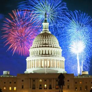 A Capitol Fourth ends with fireworks