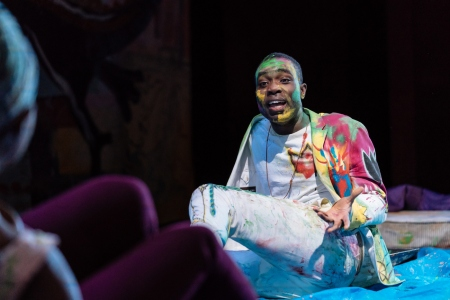 Pappa Essidiu Hamlet tour production